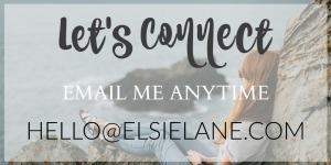 Email Elsie Lane hello@elsielane.com