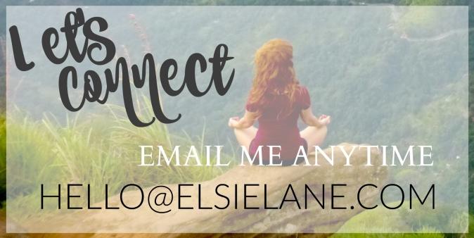Email me anytime hello@elsielane.com